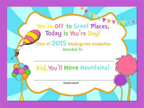 10 graduation certificate templates samples examples 601 | Graduation Kindergarten Certificate Templates