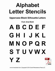 Best 25 ideas about printable individual alphabet letters find free printable alphabet stencil letters template spiritdancerdesigns Choice Image