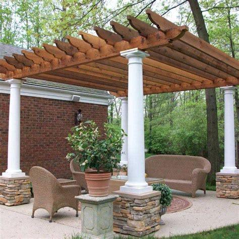 pergola design ideas pergola with columns most chosen