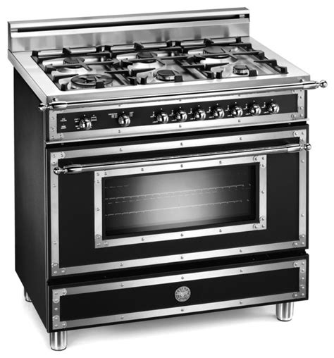 bertazzoni heritage 36 quot 6 burner gas range traditional gas ranges and electric ranges by