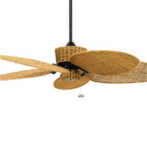 Ceiling Fan Design Tropical Wicker Ceiling Fans, Outdoor