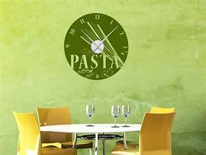 Wandbilder Für Küche Und Esszimmer : wandtattoo uhr pasta nudeln f r k che und esszimmer ~ Orissabook.com Haus und Dekorationen