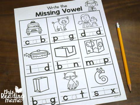 ruokavalikko      vowels worksheets  printable