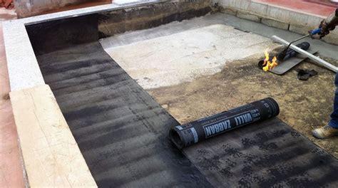 guaina terrazzo guaina ardesiata materiali la posa della guaia ardesiata