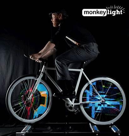 Wheel Bike Lights System Bicycle Custom Graphics