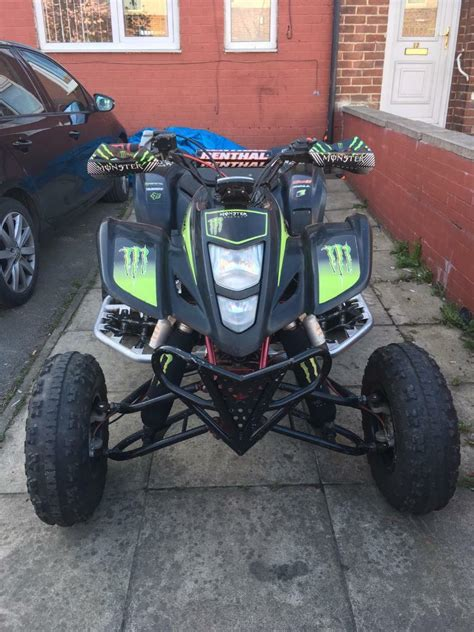 suzuki  ltz  road legal quad  raptor