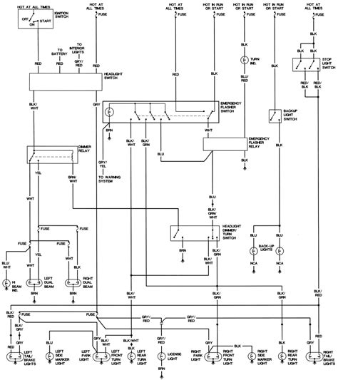 1973 Vw Beetle Light Wiring Diagram Taillight by Repair Guides Wiring Diagrams Wiring Diagrams