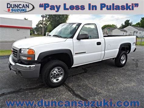 how does cars work 2006 gmc sierra 2500hd electronic throttle control purchase used 2006 gmc sierra 2500 work truck in 1001 e main st pulaski virginia united
