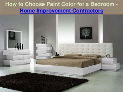 choosing bedroom colors how to choose paint color for a bedroom home improvement 11124 | how to choose paint color for a bedroom home improvement contractors 1 638