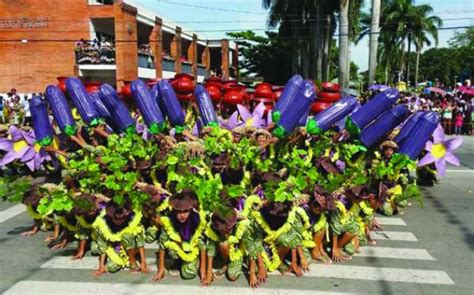 colorful talong eggplant festival  pangasinan