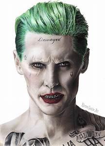 Suicid Squad Joker : the joker drawing suicide squad jared leto by kirstenlouiseart on deviantart ~ Medecine-chirurgie-esthetiques.com Avis de Voitures