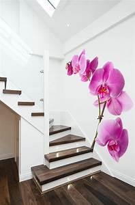 Moderne Wandgestaltung mit Fototapeten coole Ideen für