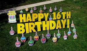 yard greetings rentals michigan happy birthday lawn sign With yard greeting letters