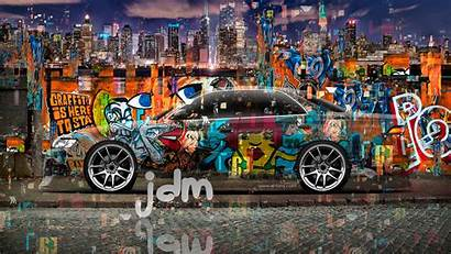 Graffiti Wallpapers Cars Crystal Cool 4k Awesome