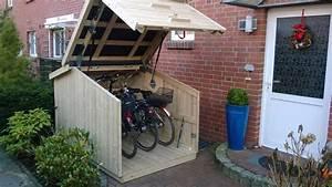 Dachabdeckung Für Schuppen : der schuppen macht karriere gartenhaus f r fahrrad und m ll lifestyle ~ Orissabook.com Haus und Dekorationen