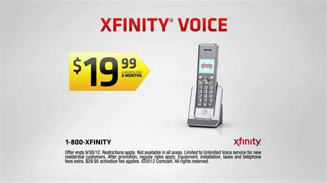 comcast xfinity phone number xfinity voice tv advanced features ispot tv