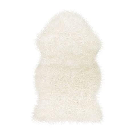 white rug ikea tejn faux sheepskin ikea