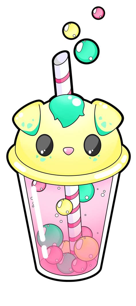 There are 1381 boba tea earrings for sale on etsy, and they cost $6.62 on average. Darla bubble tea by Meloxi | doodles in 2019 | Kawaii ...