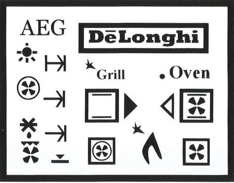 Aeg Backofen Symbole by Www Ovenlettering Co Uk