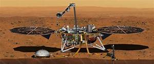 NASA's InSight lander touches down on Mars after daring ...
