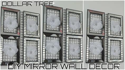 diy dollar tree mirror wall decor diy easy