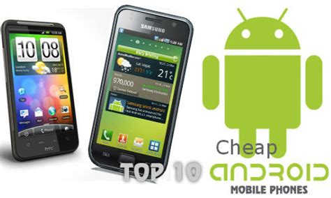 Top 10 Best Budget Android Phones For 2013 Skytechgeek