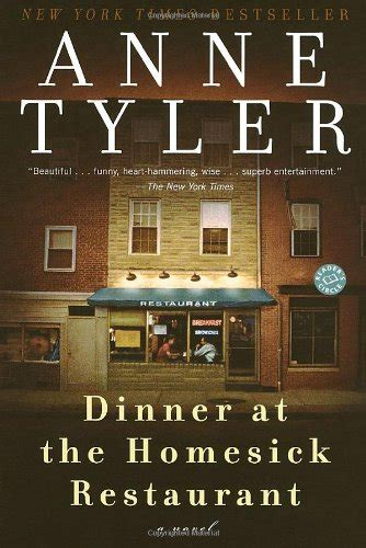Fitting Ends Ballantine Readers Circle by Dinner At The Homesick Restaurant A Novel Ballantine