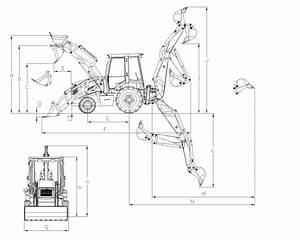 Jcb 3cx Type High Quality Backhoe Loader Excavator With