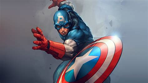 Captain America Animated Wallpaper - captain america page 1