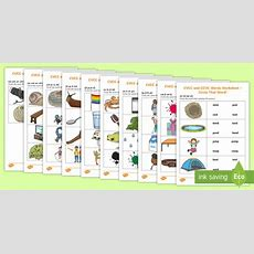* New * Cvcc Phase 4 Circle That Word Worksheets