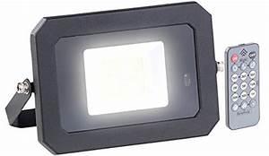 Strahler Mit Fernbedienung : luminea aussenleuchte wetterfester led fluter radar ~ Watch28wear.com Haus und Dekorationen