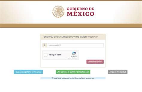 Infórmate con el personal de salud sobre los beneficios y posibles reacciones de las. Registro para vacuna anti COVID en México ya funciona correctamente | Periódico AM