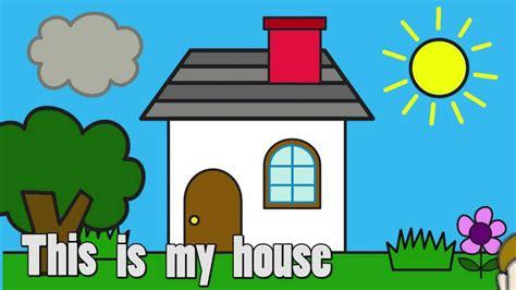 My House  Talking Flashcards Youtube