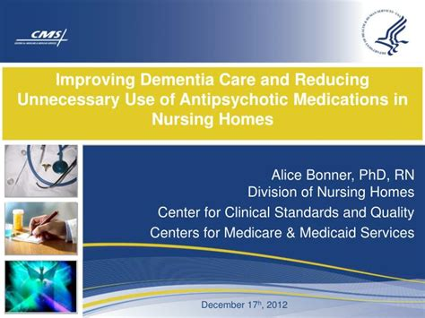 Ppt Improving Dementia Care And Reducing Unnecessary Use