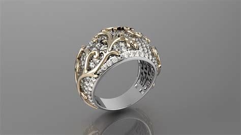 Ring For Women 10 3d Model 3d Printable Stl Cgtradercom