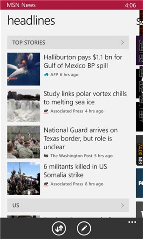 msn news xap 3 1 6 0 free news weather app for windows phone appx4fun