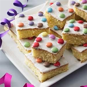 Limo Kuchen mit Schokolinsen BRIGITTE de