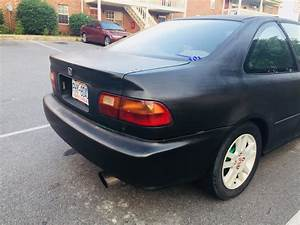 93 Civic Ex With D15b7 To D16y8 Manual