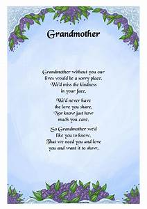Grandma Quotes And Poems. QuotesGram