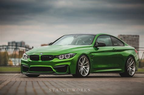 java green bmw java green bmw m4 with hre p104 wheels