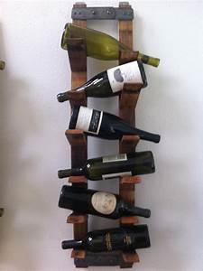 Wall Mount Wine Rack by FALLENOAKDESIGNS on Etsy