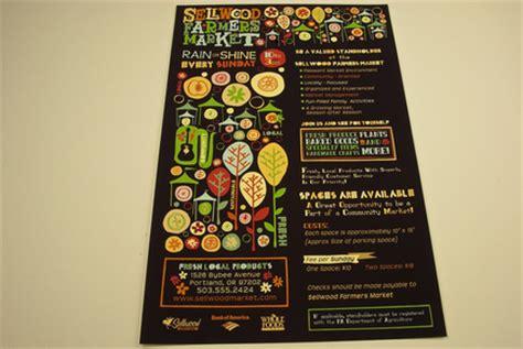 graphic farmers market flyer template inkd