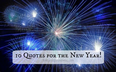 10 Quotes For A Happy New Year