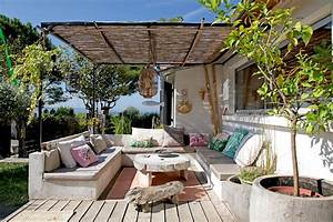 Comment Disposer Des Pots Sur Une Terrasse : un salon de jardin boh me chic ~ Melissatoandfro.com Idées de Décoration