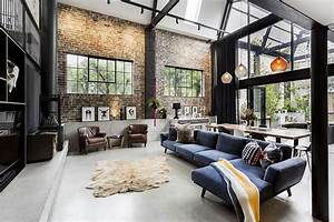 15, Amazing, Industrial, Living, Room, Design, Ideas, For, Make, Your, Guest, Comfortable, 8