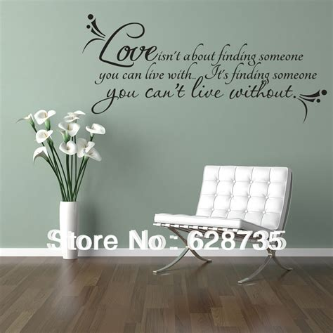 ebay wall decor quotes wall quotes decal room decor quot isn t about