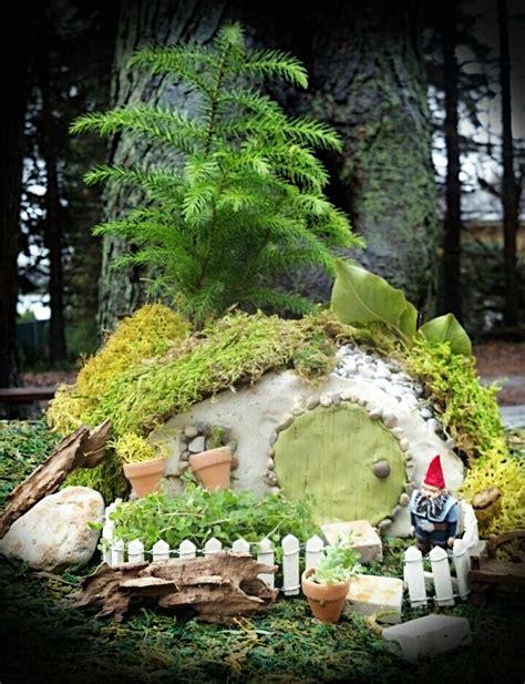 gnome home the enchanted acorn gardens miniature