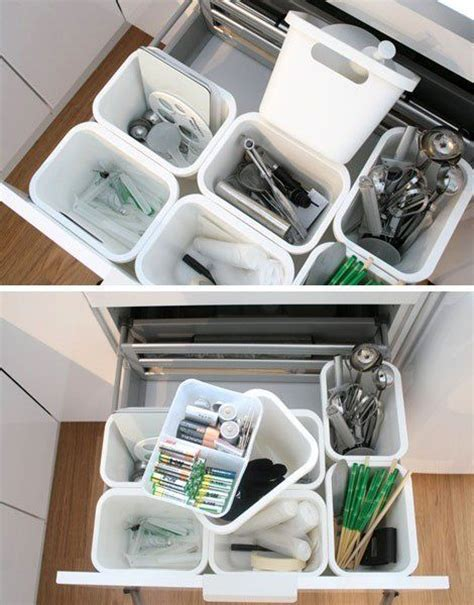 smart organizing solution  deep kitchen drawers