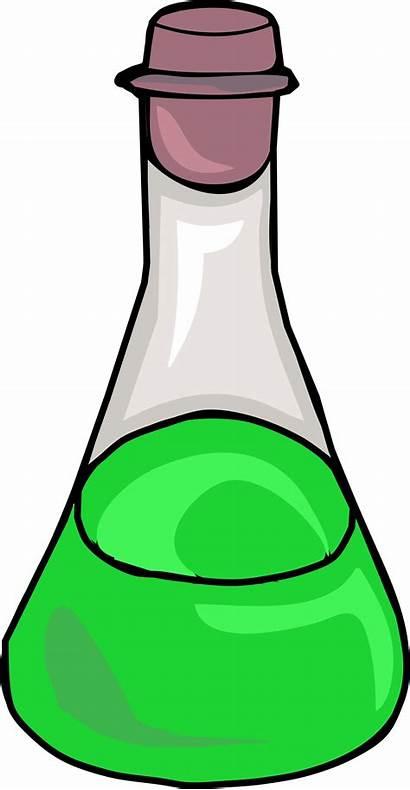 Clipart Science Bottle Potion Scientist Transparent Webstockreview