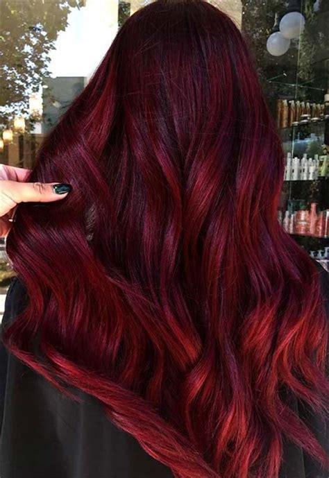 burgundy hair color ideas   hair